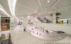 Calatrava Transportation Hub (DSC08820-Edit) (Michael.Lee.Pics.NYC) Tags: newyork wtc worldtradecenter calatrava transportationhub architecture mall fisheye sony a7rm2 rokinon12mmf28