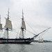 USS Constitution Sails to Commemorate Victory over HMS Guerriere During the War of 1812