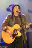 Lucy Spraggan, at the switch on of the Meadowhall Christmas Lights at Meadowhall. Sheffield, England