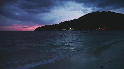 Pulau Perhentian Besar Beach Early Night