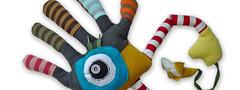 Handmonster (bigbrownmonster) Tags: monster daddy fun toy design child hand handmade fingers creative palm plush parent gift kawaii handcrafted  ideas   preschooler             stayathome      bigbrownmonster wilkietan