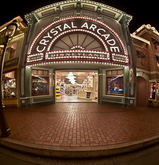"Crystal Arcade - Main Street - Dineyland • <a style=""font-size:0.8em;"" href=""http://www.flickr.com/photos/85864407@N08/8177048479/"" target=""_blank"">View on Flickr</a>"