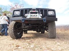 PB095295 (jeepinjason) Tags: jeep arkansas cherokee hotsprings 2012 xj rhd highsteer superliftorvpark lsjc veteransdayrun