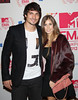 German football player Mats Hummels and Cathy Fischer The MTV EMA's 2012 held at Festhalle - arrivals Frankfurt, Germany