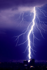 Thunderstorm 3 (Gaby.Bernstein) Tags: sky rain skyline night clouds buildings gaby thunderstorm lightning bernstein thunderbolt thunderbolts lightnings bernsteingaby gabybernstein