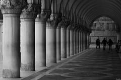 Lines and Curves. (jrmllvr) Tags: street venice bw white black lines architecture canon noir curves ngc sigma palace des palais vault biennale 1770 rue et venise venezia blanc biennial voute doges 50d blackwhitephotos