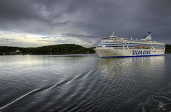Ferry (David Gilson) Tags: ocean sea ferry boats nikon sweden ships baltic stockholmn theinspirationgroup