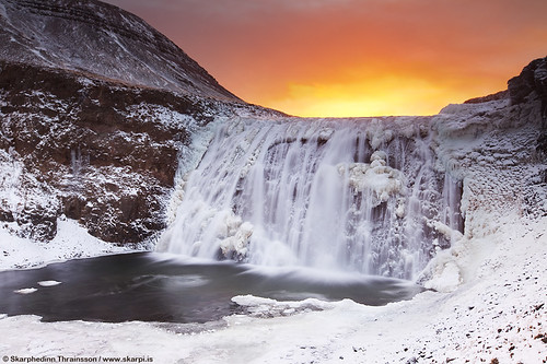 Winter season in Iceland