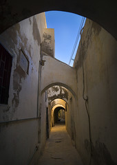 Passageway in The Medina, Tripoli, Libya (Eric Lafforgue) Tags: africa street city urban color building history vertical architecture town vanishingpoint ancient alley arch northafrica traditional nobody nopeople medina archway passage libya tripoli libia libye libyen colorpicture lbia italiancolony libi libiya  ribia liviya builtstructure libija colourpicture       lbija  lby  libja lbya liiba livi  a0012273