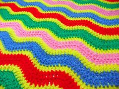 Ripple 2 Finished (Wool n Hook) Tags: ripple crochet blanket babyblanket haken croche tejer hkeln virka hkle ganchillo crochetblanket haakwerk hekle crochetthrow newbornbabyblanket woolnhook szydelkowac