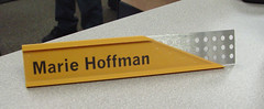 Nameplate with Desk Stand