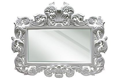 Mirrors diva rocker glam for White baroque style mirror