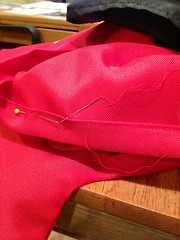 blind stitch on hem