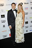 Brendon Cole and Zoe Hobbs at the Drapers Fashion Awards at Grosvenor House. London