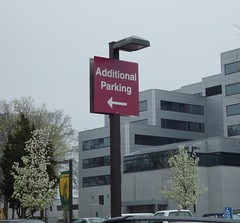 Exterior Wayfinding Parking Lot Signage
