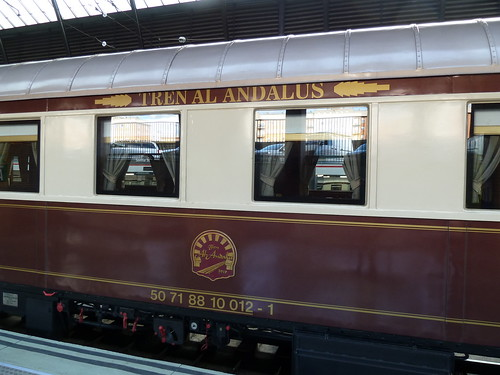 AL Andalus - luxury train in Spain