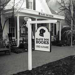 Black Dog Books (Jim Grey) Tags: film 120 ansco zionsville