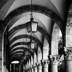 (Walimai.photo) Tags: street light bw white black byn blanco luz square lumix farola negro panasonic column salamanca columna lx5 thechallengefactory