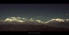 Annapurna Panorama (Anindo Dey) Tags: olympus pokhara annapurna himalayas dey anindo annapurnasouth annapu