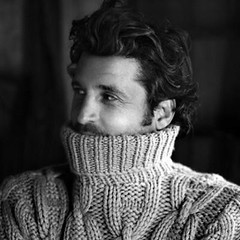 Men in turtleneck (Mytwist) Tags: ca lana la sweater cable cables jumper turtleneck pullover wol laine wolle uld cabledsweater
