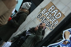 Badidas London (WhistlingAnts) Tags: workers labour adidas sweatshops