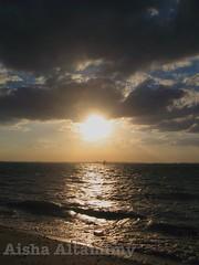 Sun Set (Aisha Altamimy) Tags: bahraincitycenter