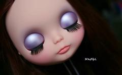 Isabella's eyelids :)