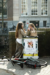*** (gagilas) Tags: girls amsterdam bike delete10 delete9 delete5 delete2 break delete7 cigarette delete8 delete3 delete delete4 smoking coffeebreak interval delete6fortrismitril