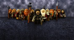 LEGO The Hobbit Thorin and Company (tormentalous) Tags: lego thehobbit thorinandcompany legothehobbit