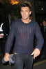 Leandro Penna, leaving the 'Mahiki Coconut Christmas party' at Mahiki nightclub in Mayfair