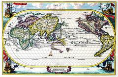 Antique Maps (divinumphoto) Tags: map mapoftheworld c1700 antiquemapsoftheworld heinrichscherer