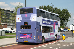 First Games TransBus Trident TransBus ALX400- rear (DennisDartSLF) Tags: bus first slough trident london2012 transbus alx400 33348 locog lk53fcg firstgamestransport olympicshuttle