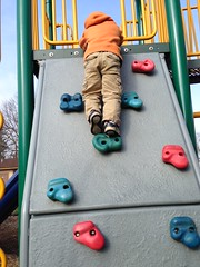 Dominic the rock climber