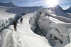 "Crevasse Field (photo61guy) Tags: nepal snow ice nature landscape island bravo peak climbing mountaineering crevasse soe tse winterbeauty alpinism ropeteam ropedup imja theunforgettablepictures platinumheartaward ""flickraward"" mygearandme mygearandmepremium mygearandmebronze mygearandmesilver mygearandmegold mygearandmeplatinum mygearandmediamond healinglightofthespirit ruby10 ruby5 ruby15 outsideelements"
