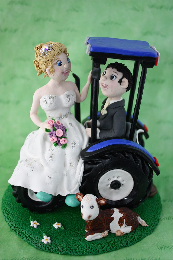 international tractor wedding cake topper the world s newest photos of topper and tractor flickr 16467
