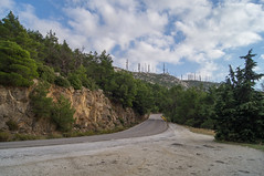 Ymittos #1918 (digitalnexus) Tags: road mountain athens greece attica ymittos