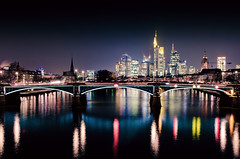 One Night in Frankfurt (_flowtation) Tags: city light streets night clouds reflections germany dark licht nikon downtown hessen skyscrapers cathedral nacht bokeh dom frankfurt main bridges fields lighttrails deutschebank brcke banks museumsufer frankfurtammain commerzbank sparkasse paulskirche sachsenhausen mainriver ubs lightstreams messeturm maintower banken ezb 2470mm mainufer spiegelungen europeancentralbank 2470f28 ignatz unschrfe dzb bubis 2470mm28 commerzbanktower lightstars deutschherrnbrcke downtownfrankfurt lichtspuren ignatzbubisbrcke bokehlicious ignatzbubisbridge lightstar nikon2470mm nikon247028 nikon2470mmf28 flserbrcke d7000 bokeeeeeeh nikond7000 museumsuferfrankfurt darknesslighttrails neweuropeancentralbank germanmenbridge fairtraidetower ignaztbubis