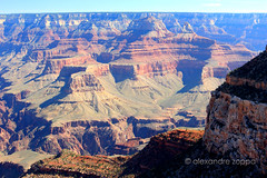 Grand Canyon III (Alexandre Zoppa) Tags: autumn arizona usa sun color sol nature canon cores photography photo rocks day foto shadows unitedstates grandcanyon natureza dia eua fotografia sombras outono pedras estadosunidos zoppa canont3i alexandrezoppa