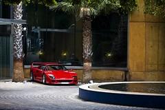 Ferrari F40 (Pere Nubiola) Tags: barcelona car canon stars eos hotel 5 ferrari catalunya mm miramar f40 40d 55250