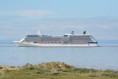 Celebrity Silhouette (Peter Owen) Tags: cruise beach ship crosby blundellsands celebritysilhouette