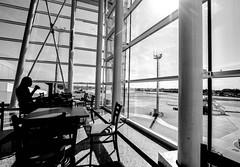 Parallel lines. (fabriciocbarros) Tags: aerporto airport braslia df brazil brasil canon 60d 1022mm canon60d blackandwhite pretoebranco pb
