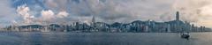 Hong Kong harbour (Chin Li Zhi) Tags: hongkong harbour x100s x100 fujifilm panorama dusk sea ships bustling activity view cityscape landscape