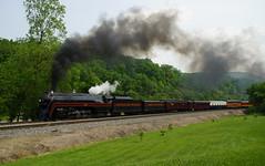N&W #611 AT VILLAMONT(BUFORD'S GAP), VA (railfan1967) Tags: nw 611 steam engine villamont va norfolksouthern norfolkandwestern 484steamengine