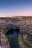 Palouse Falls (TwistedJake) Tags: palouse falls washington waterfall dusk sunset eastern
