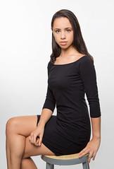 feminine (joe.ervin514) Tags: blue black dress dc virginia va union 206 beautiful puerto rico rican alexandrea eyes