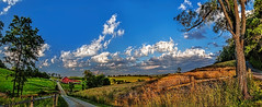 IMG_9630-34PtRzl1TBbLGE3 (ultravivid imaging) Tags: ultravividimaging ultra vivid imaging ultravivid colorful canon canon5dmk2 clouds fields farm barn road scenic vista rural summerday