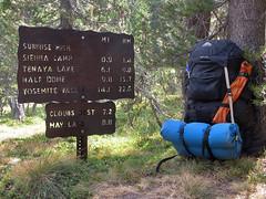 Approaching Sunrise High Sierra Camp (Mike Dole) Tags: johnmuirtrail yosemitenationalpark california sierranevada