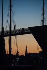 high selfie (petdek) Tags: selfie sunset city architecture geometry silhouette gradient
