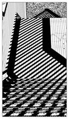 Schatten weisen den Weg... (Silke Klimesch) Tags: berlin naturpark schönebergersüdgelände südkreuz park treppe schatten schwarzweis schwarz weis kontraste kontrastreich linien gitter richtung stufen texturen strukturen stairs staircase steps lines blackandwhite black white contrasty strongcontrast structures textures shadows grid direction escalier marche ligne treillis grille ombre noir blanc noiretblanc contraste contrasteaccentué escalera escalón dirección sombra blancoynegro blanco negro rejilla textura scala struttura ombra gradino direzione contrasto biancoenero bianco nero reticolo escada degrau grade pretoebranco direção olympus omd em5 zuikoommcautos50mmf14 microfourthirds mft 50mm