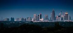 Skyline Frankfurt (gbauer211) Tags: mitscherlichhaus frabkfurt hchst abend blauestunde silhouette skyline hochhaus stadt maintower mainhatten